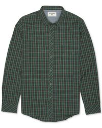Billabong | Green Riviera Plaid Long-sleeve Shirt for Men | Lyst