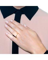 Lulu Frost | Metallic Code 14 Kt Arrow Ring | Lyst