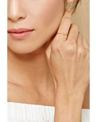 Forever 21 | Metallic Cool And Interesting B Initial Ring | Lyst