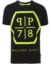 Philipp Plein | Black 'massive' T-shirt for Men | Lyst