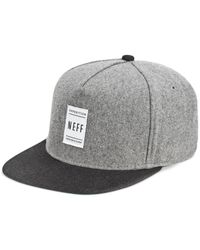 Neff | Gray Standard Cap for Men | Lyst
