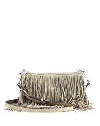 Rebecca Minkoff | Multicolor Finn Fringed Convertible Suede Crossbody Bag | Lyst