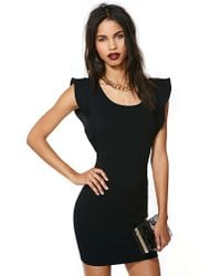 Nasty Gal | Black Fly The Coop Dress | Lyst