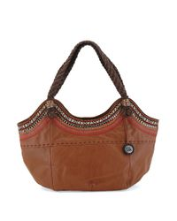 The Sak | Brown Indio Leather Satchel | Lyst