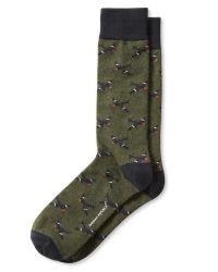 Banana Republic | Green Plane Sock for Men | Lyst