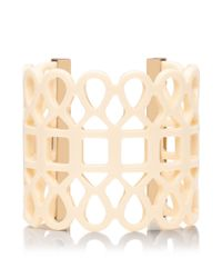 Tory Burch - White Lace Cuff - Lyst