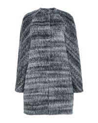 Martin Grant | Gray Alpaca Wool Cardigan Coat | Lyst
