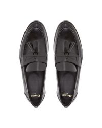 Dune Black | Black Raegan Patent Tassel Loafer for Men | Lyst