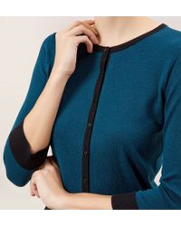 Hobbs - Blue Holly Cardigan - Lyst