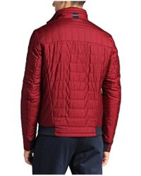 BOSS Green - Red Jacket 'jorres' In Quilted Look for Men - Lyst
