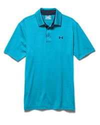 Under Armour - Blue Playoff Polo Shirt for Men - Lyst