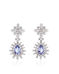 Paul Morelli | Blue Patrician Wreath Drop Earrings | Lyst