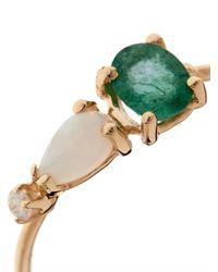 Loren Stewart | Green Diamond Emerald Opal  Gold Ring | Lyst