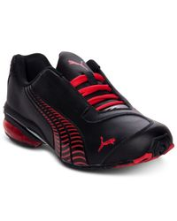 PUMA | Black Men'S Cell Jago 8 Sneakers From Finish Line for Men | Lyst