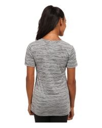 Nike | Black V-neck Legend Short Sleeve Veneer Tee | Lyst