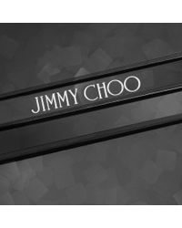 Jimmy Choo | Black Candy Chain-trim Acrylic Clutch | Lyst