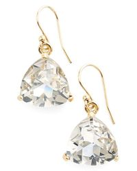 kate spade new york - Metallic 'twinkle Lights' Drop Earrings - Glass Stone/ Gold - Lyst