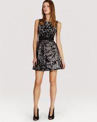 Karen Millen | Multicolor Dress Furprint Tulle | Lyst
