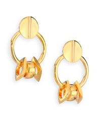 Lizzie Fortunato - Metallic Tortola Retro Link Drop Earrings - Lyst