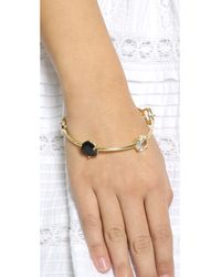 kate spade new york | Multicolor Twinkle Lights Bangle Bracelet - Neutral Multi | Lyst