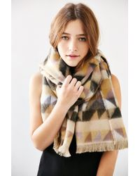 Urban Outfitters | Multicolor Avant Garde Brushed Woven Scarf | Lyst