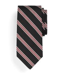 Brooks Brothers | Black Mini Bb#1 Repp Tie for Men | Lyst