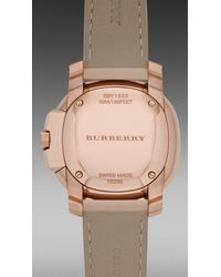 Burberry Brit - Natural The Britain Bby1503 38mm - Lyst
