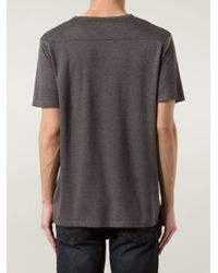 Joe's Jeans - Gray Marled T-Shirt for Men - Lyst