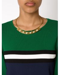 Lizzie Fortunato | Yellow 'polanco' Pearl Necklace | Lyst