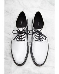 Forever 21 | Metallic Faux Patent Oxfords | Lyst