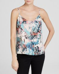 French Connection | Multicolor Isla Ripple Strappy Top | Lyst