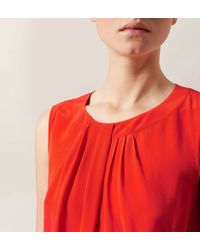Hobbs | Red Airlie Top | Lyst