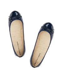 Butterfly Twists - Blue Olivia Foldable Ballerina Pumps - Lyst