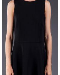 Michael Kors   Black Double Face Crepe Dress   Lyst