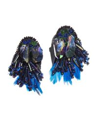 Mignonne Gavigan | Blue Najlah Earrings Peacock | Lyst