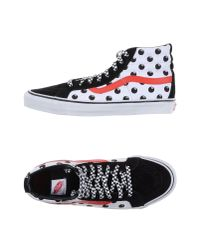 Vans - White High-tops & Trainers for Men - Lyst
