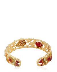 Les Nereides   Metallic Feuilles D'automne Bracelet   Lyst
