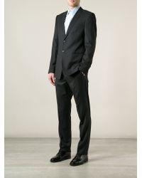 Emporio Armani - Black Classic Suit for Men - Lyst