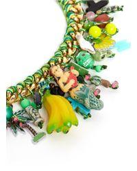 Venessa Arizaga | Green 'kami-kaze' Bracelet | Lyst