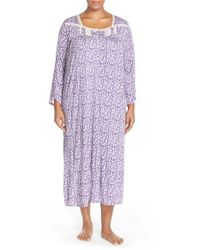 Eileen West - Multicolor Print Modal Nightgown - Lyst