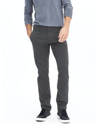 Banana Republic | Gray Heritage Wool/cotton Pant for Men | Lyst