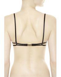 La Perla | Black Balcony Bikini Top | Lyst
