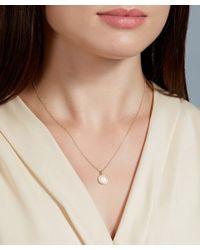 Astley Clarke - Metallic Gold Diamond Cosmos Pendent Necklace - Lyst