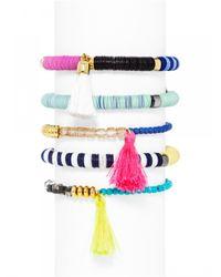 BaubleBar - Multicolor Cape Town Bracelet Set-Neon - Lyst