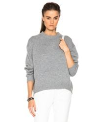 Acne Studios | Gray Shora Wool Sweater | Lyst