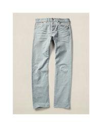 RRL - Blue Slim-fit Bedford Cord Pant for Men - Lyst