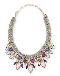 Marina Rinaldi - Multicolor Laos Crystal Necklace - Lyst