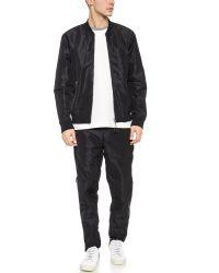 Alexander Wang | Black Side Zip Track Pants for Men | Lyst