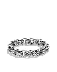David Yurman | Metallic Empire Double-link Bracelet With Gold for Men | Lyst