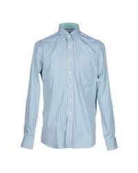 Mirto - Green Shirt for Men - Lyst